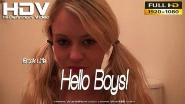 """Brook Little """"Hello Boys"""""""