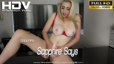 "Sapphire ""Sapphire Says"""