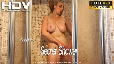 "Sapphire ""Secret Shower"""