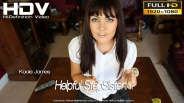 "Kacie James ""Helpful Sister:Pt1"""