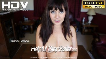 "Kacie James ""Helpful Sister:Pt2"""