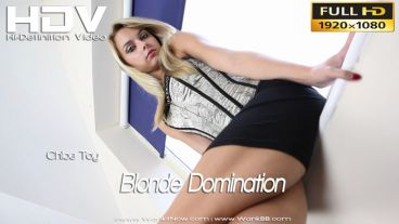 "Chloe Toy ""Blonde Domination"""