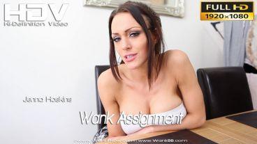 """Jenna Hoskins """"Wank Assignment"""""""