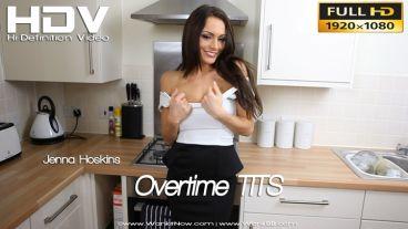 """Jenna Hoskins """"Overtime TITS!"""""""