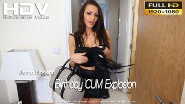 "Jenna Hoskins ""Birthday CUM Explosion"""