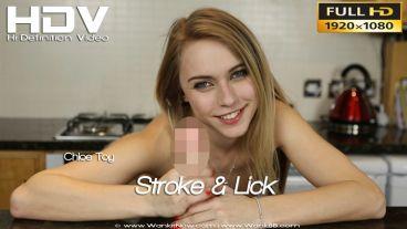 "Chloe Toy ""Stroke & Lick"""