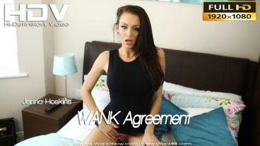 """Jenna Hoskins """"WANK Agreement"""""""