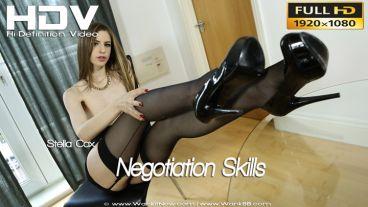 """Stella Cox """"Negotiation Skills"""""""