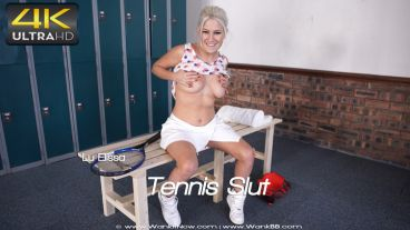 "Lu Elissa ""Tennis Slut"""