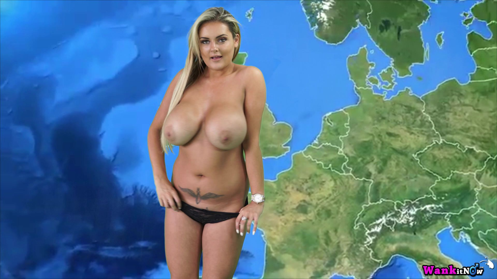 katie t naughty weather girl sexy albums wank it now